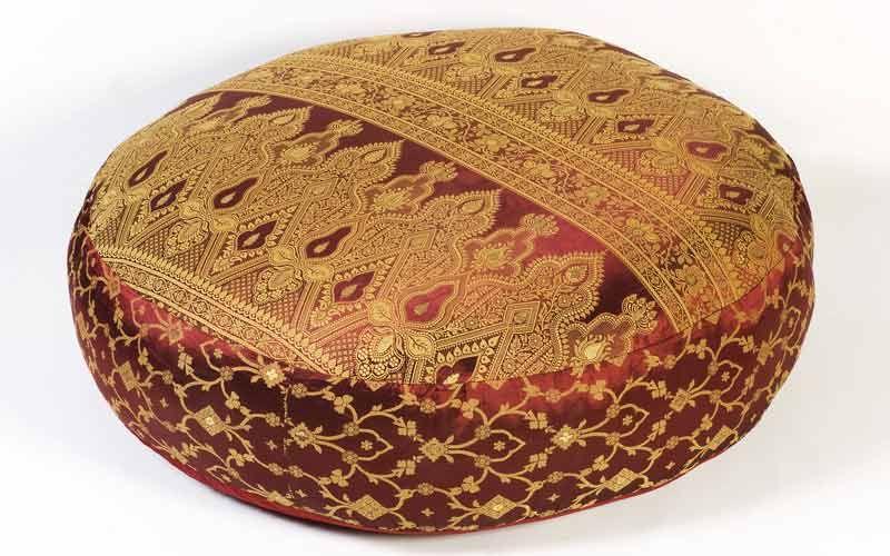 Floor Pillows Round Floor Pillows Burgundy Sunderi