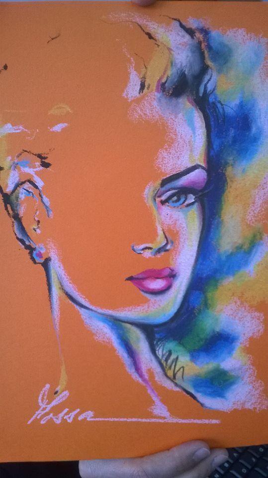 Tecnica De Oleo Pastel Drawings Art Art Lessons