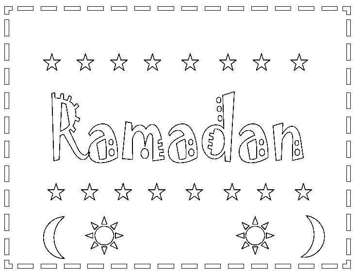 leuke kleurplaat voor de ramadan kijk op de surfsleutel