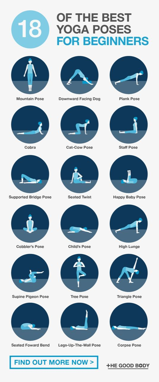 Photo of The Best Yoga Poses For Beginners: 18 Simple Asanas To Try (Today!)