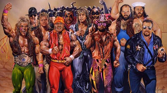Classic Royal Rumble Promo Art Royal Rumble Pro Wrestling Wrestling Superstars