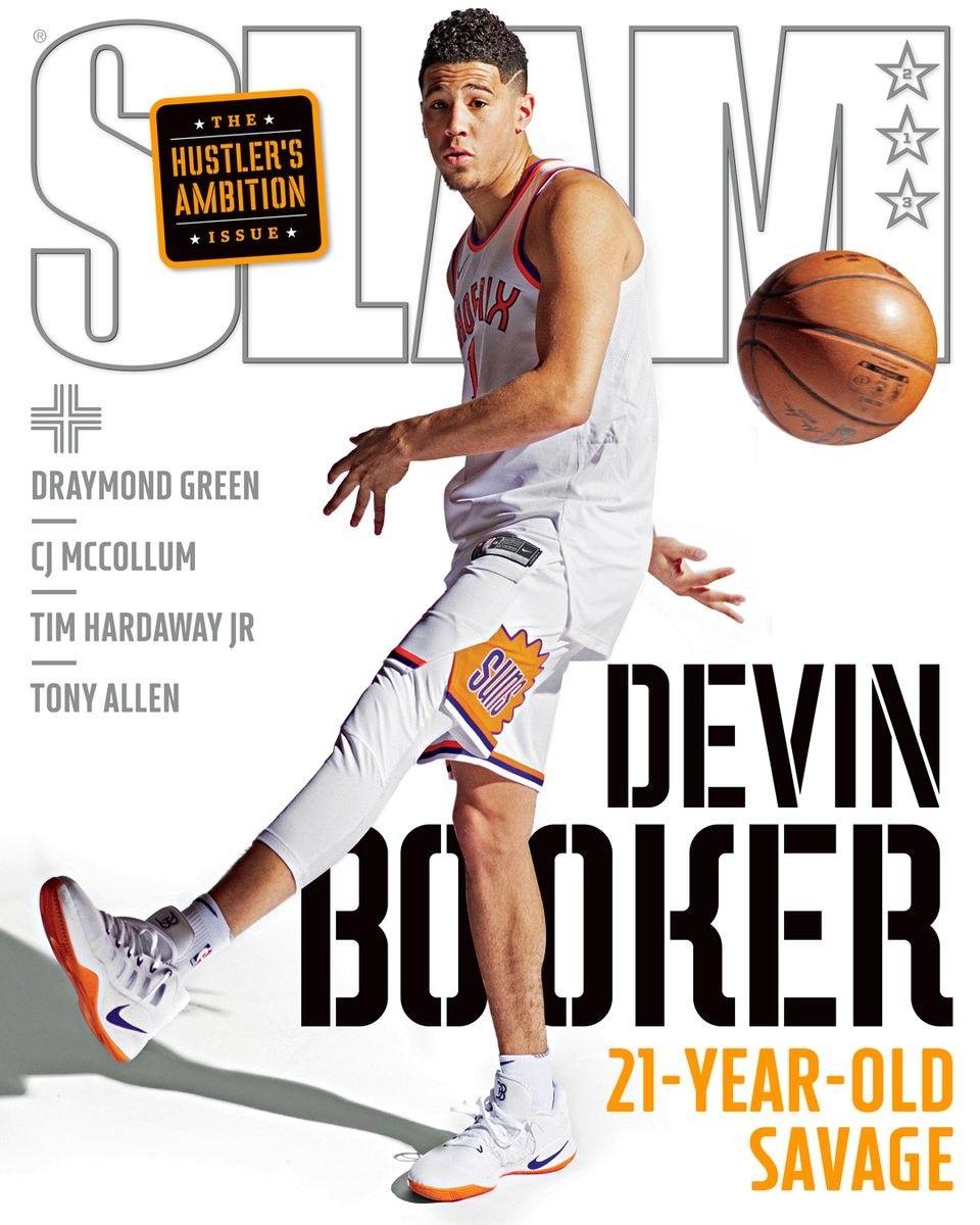 Devin Booker on SLAM magazine Devin booker, Slam