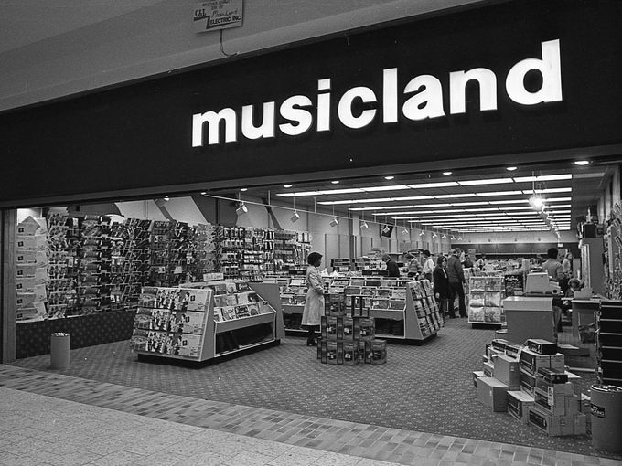 Musicland At The Lansing Mall Nov 15 1978 Quot Malls Now