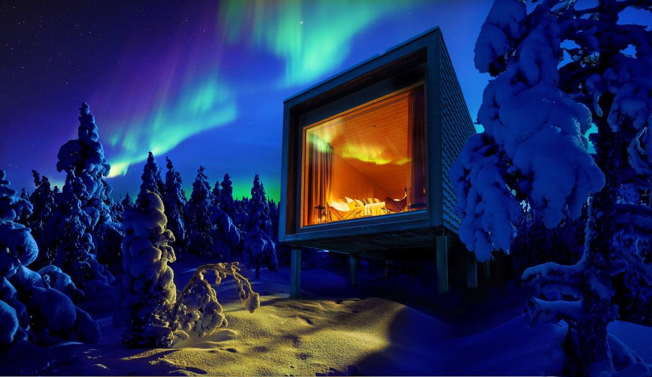 Northern Lights Lapland Best Time See