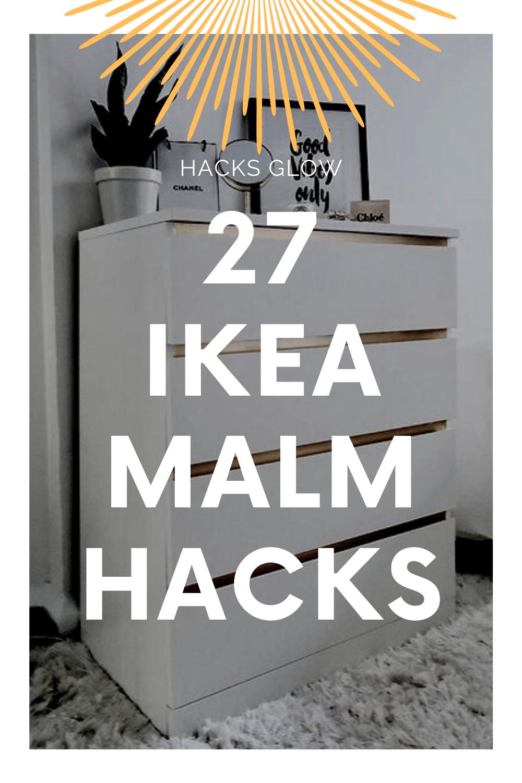27 Ikea Malm Hacks for a stylish dresser