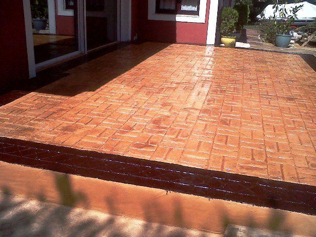 pavimentos de hormigon impreso en avila terazza de pavimentos de hormigon impreso en avila