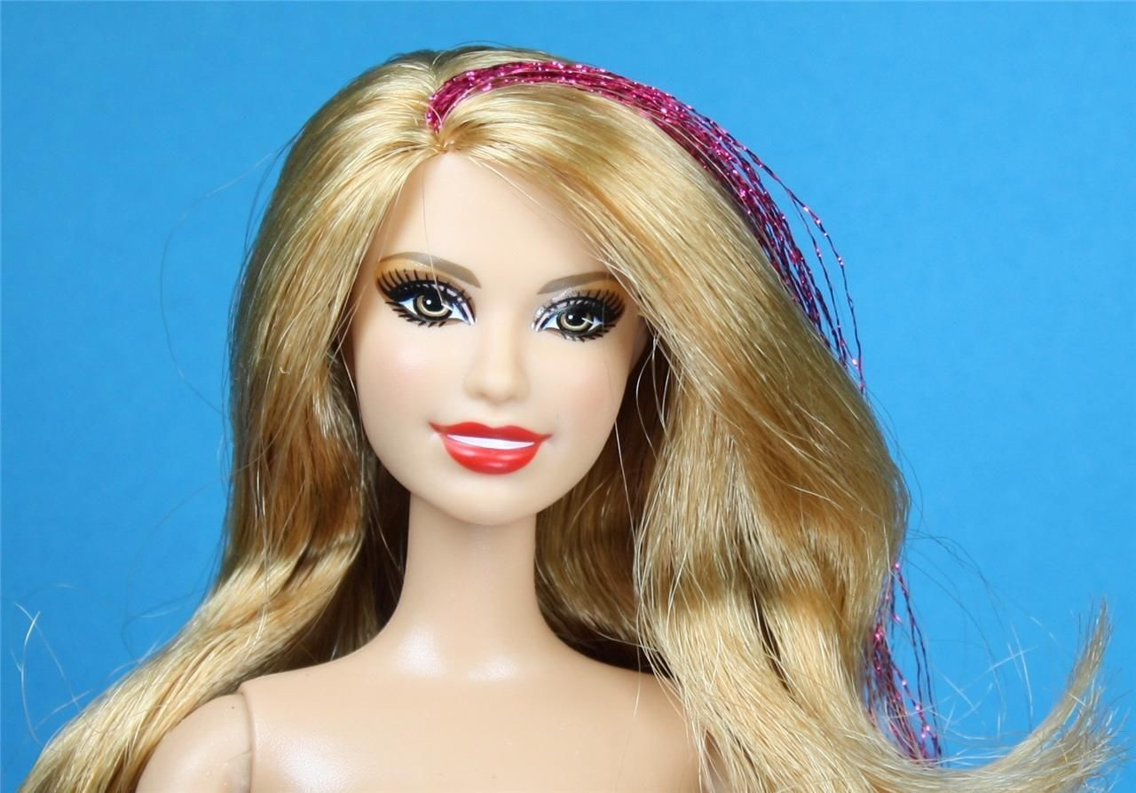 Find great deals on ebay for barbie hair extensions doll barbie light - Barbie Fashionistas Glitter Doll Strawberry Blonde Hair Articulated Nude