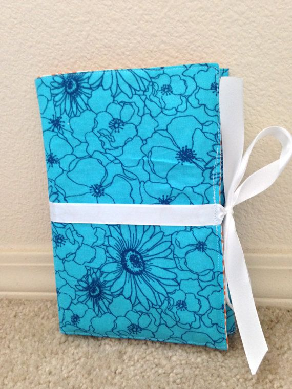Custom Order for Janine H-3 PP Organizers-Blue Flowers, Two Teal