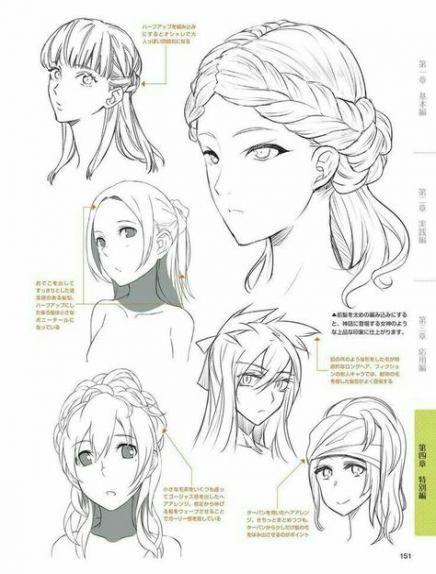 51 Ideas Drawing Hair Anime Inspiration For 2019 Manga Hair How To Draw Hair Anime Hair