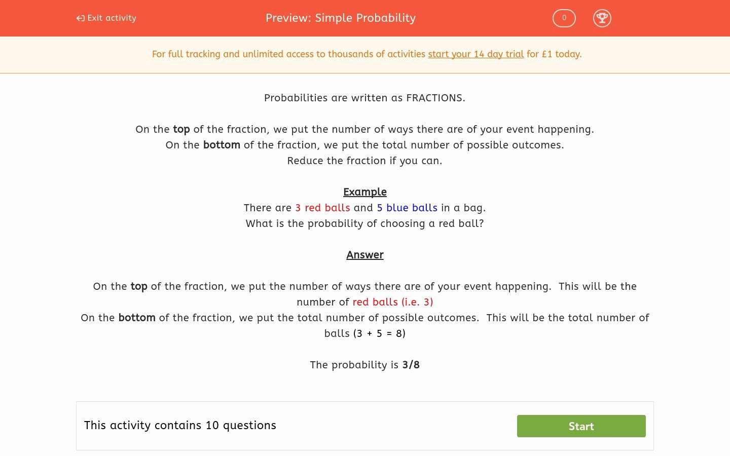 50 Simple Probability Worksheet In With Images
