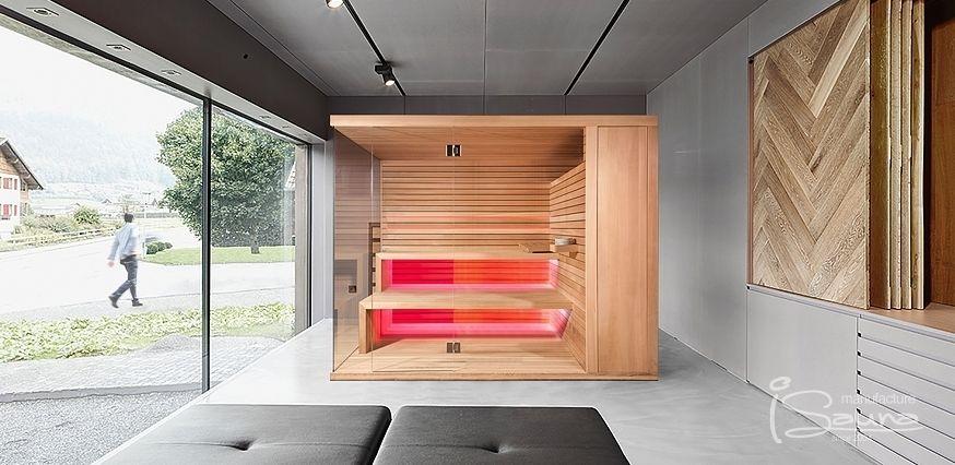 Bio sauna with hidden sauna heater SAUNA1 Pinterest Saunas and