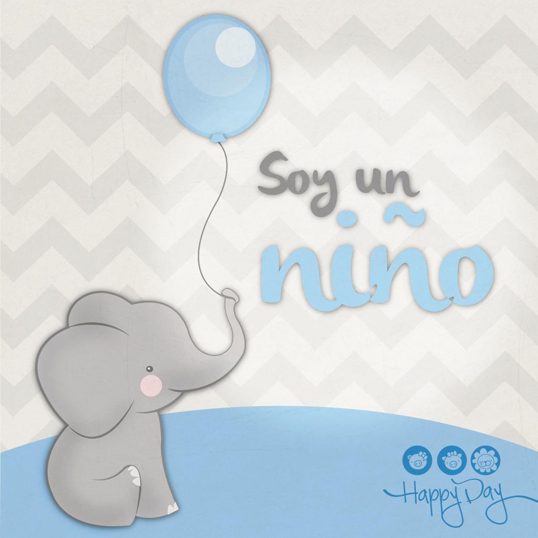 Elefante beb baby shower decoraci n de fiestas - Fotos de elefantes bebes ...