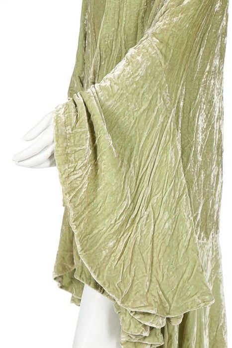 evening coat image 5 lucien lelong early 1920s crushed