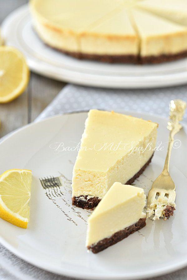 Photo of Zitronen-Käsekuchen mit gezuckerter Kondensmilch – Rezept