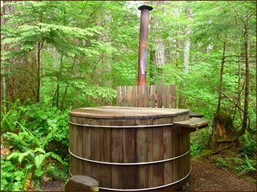 Mt Rainier Lodging Japanese Soaking Tubs Hot Tub Landscaping