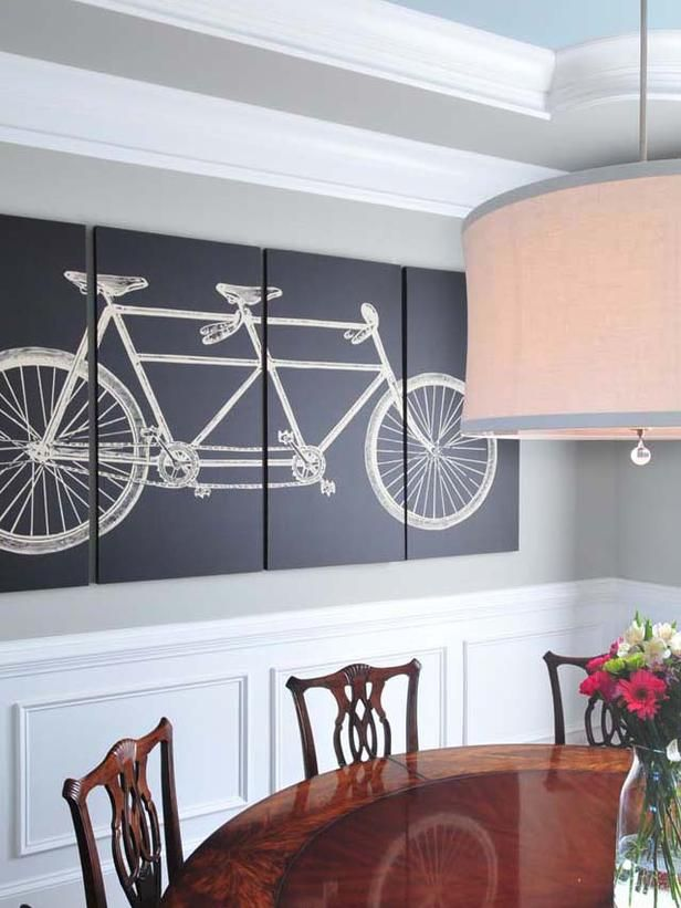 15 Dining Room Decorating Ideas  Triptych Room Decorating Ideas Inspiration Wall Art For A Dining Room Inspiration Design