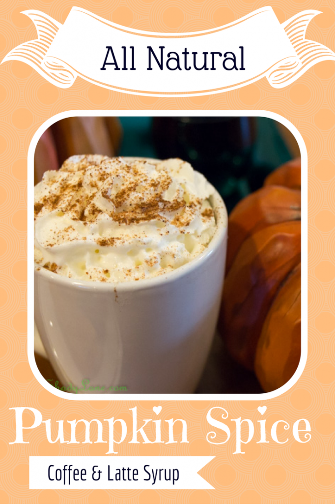 how to make pumpkin syrup for coffee