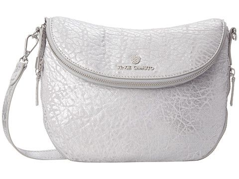 91657dc587 Vince Camuto Rizzo Crossbody Silver - Zappos.com Free Shipping BOTH Ways