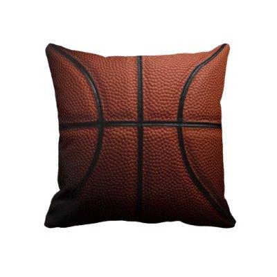 Basketball Pillow   Basketball bedroom