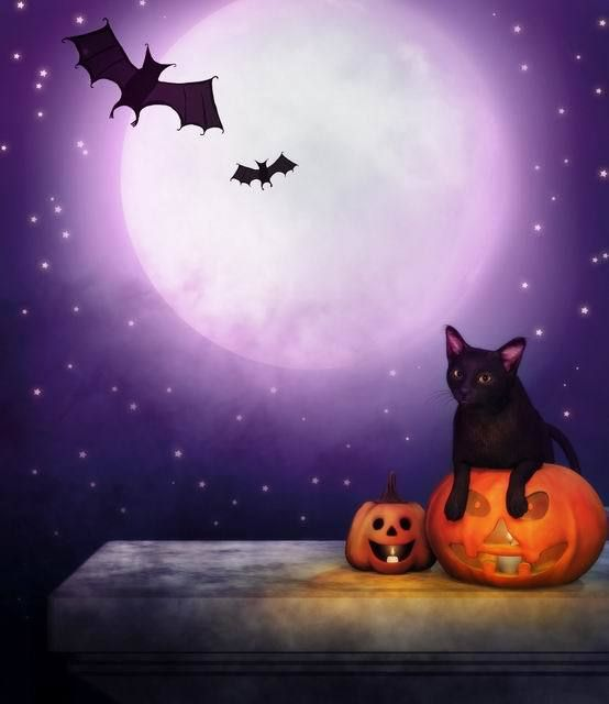 Click to Buy \u003c\u003c Custom vinyl print halloween photography background - halloween backdrop