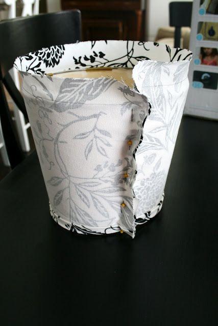 Slip Cover for Lampshade Tutorial | Inspiring Ideas ...