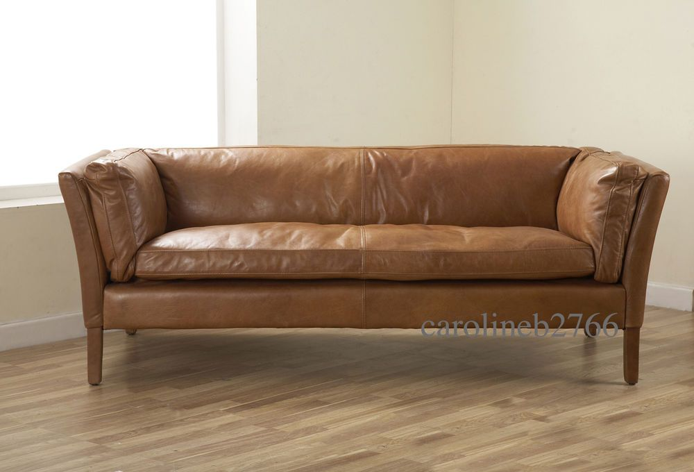 It Now 1 269 John Lewis Groucho Walnut Leather Sofa