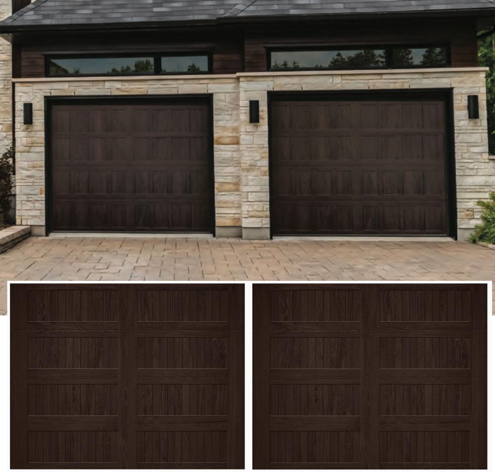 Chi Modern Wood Grain Stamped Carriage Door Google Search In 2020 Garage Doors Chi Garage Doors Carriage House Garage Doors