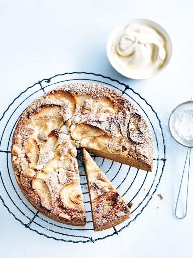애플&아몬드 케이크