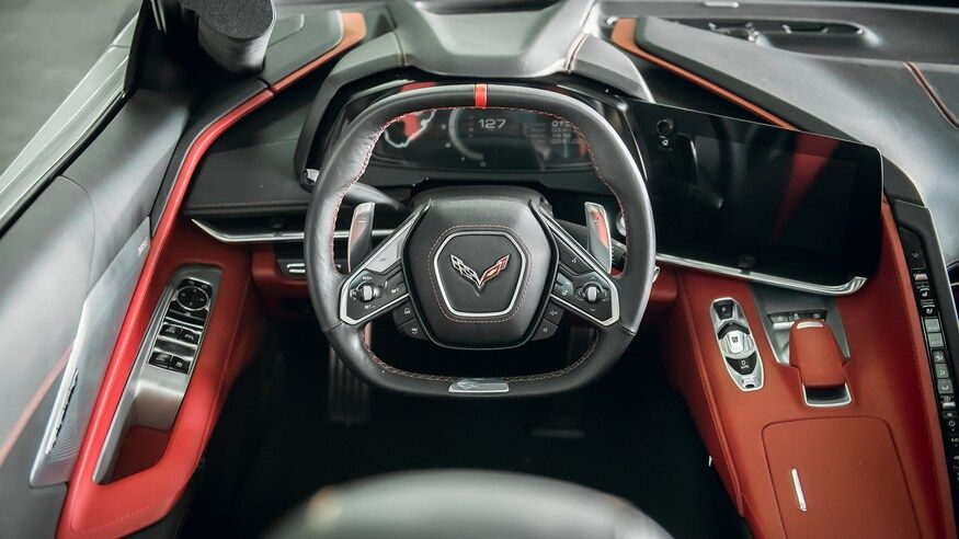 2020 Chevrolet Corvette Interior Review What S Different Inside The C8 In 2020 Chevrolet Corvette Corvette Corvette Stingray