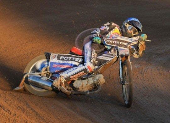 Speedway Hot-Gun Adam Ellis in 2nd at Mid-Point of 2012 French Speedway Championships
