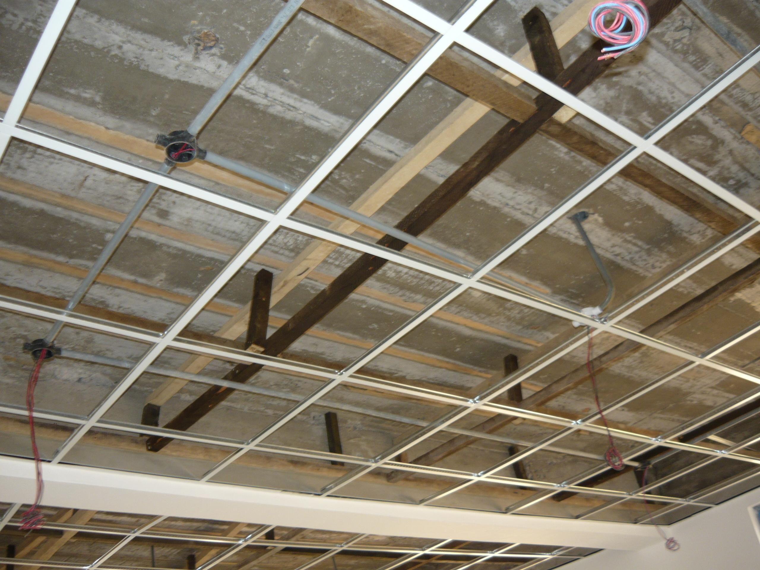 Ceiling Tile And Grid System Httpcreativechairsandtables