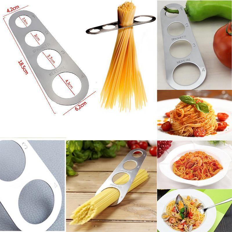 Stainless Steel Pasta Spaghetti Noodle Measurer Kitchen