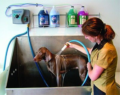 4 Product System Bathes Pets In A Fraction Of The Time Of Hand