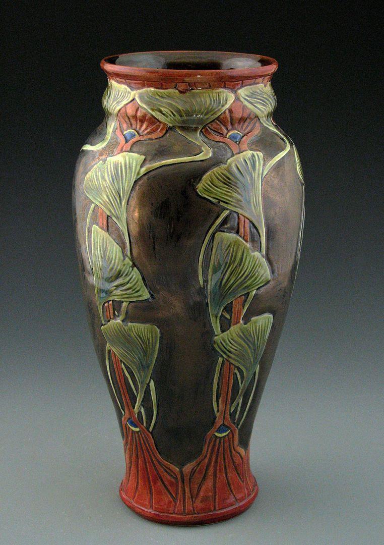 Stephanie Young Calmwater Designs art nouveau, ceramics