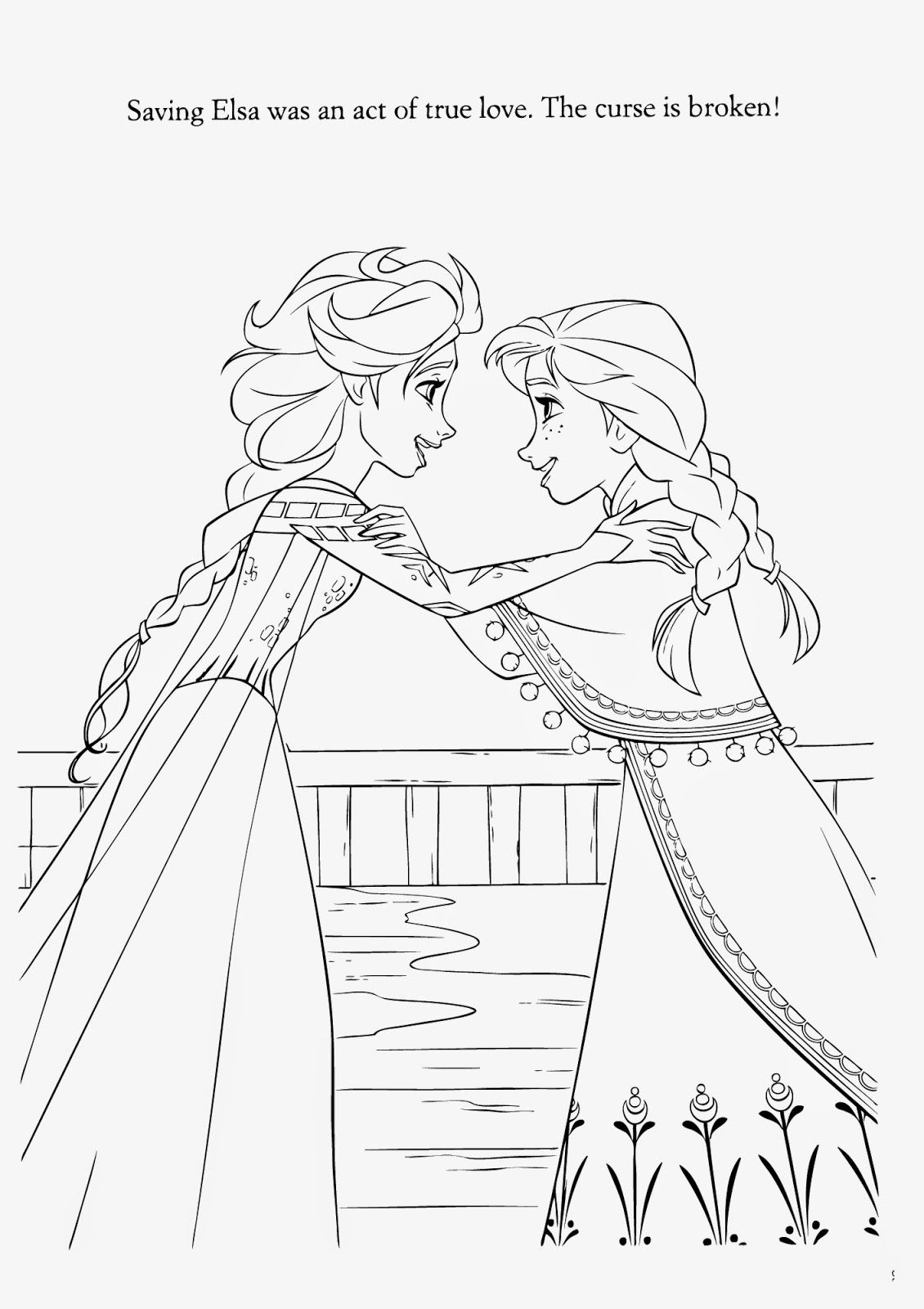15 Beautiful Disney Frozen Coloring Pages Free ~ Instant Knowledge ...