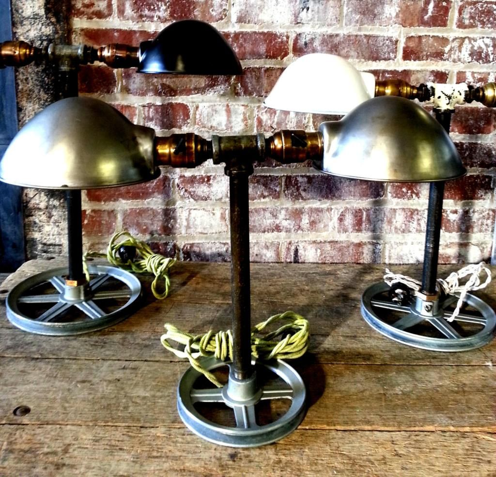 Just custom lighting listings view vintage industrial factory find this pin and more on custom desk lamps by justcustomstore geotapseo Gallery