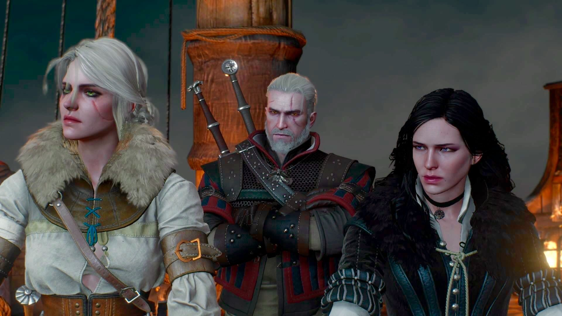 yennefer and geralt meet the parents