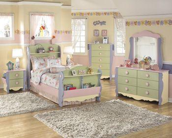 Ashley Furniture B140 Children\'s Bedroom Set | redeco | Pinterest ...
