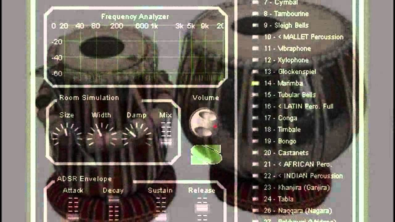 Syntheway Virtual Sitar and Ethnic Indian Percussion Kit