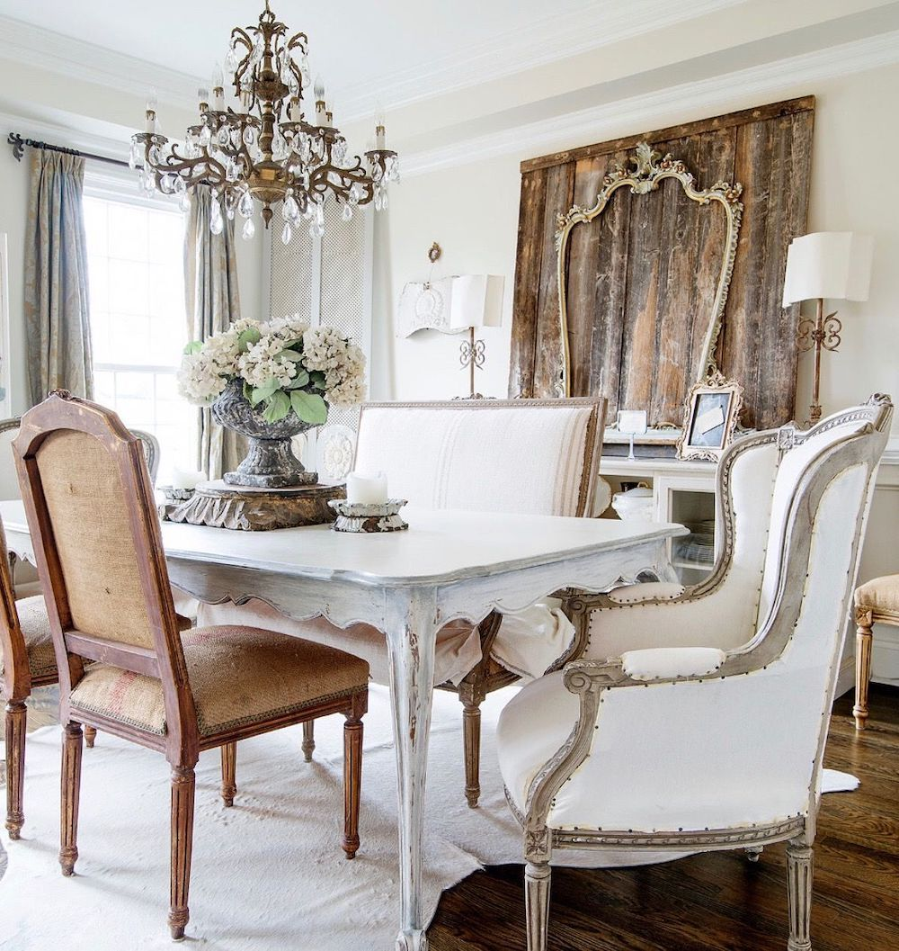 3 Charming French Country Dining Rooms French Country Dining Room French Country Living Room Dining Room French