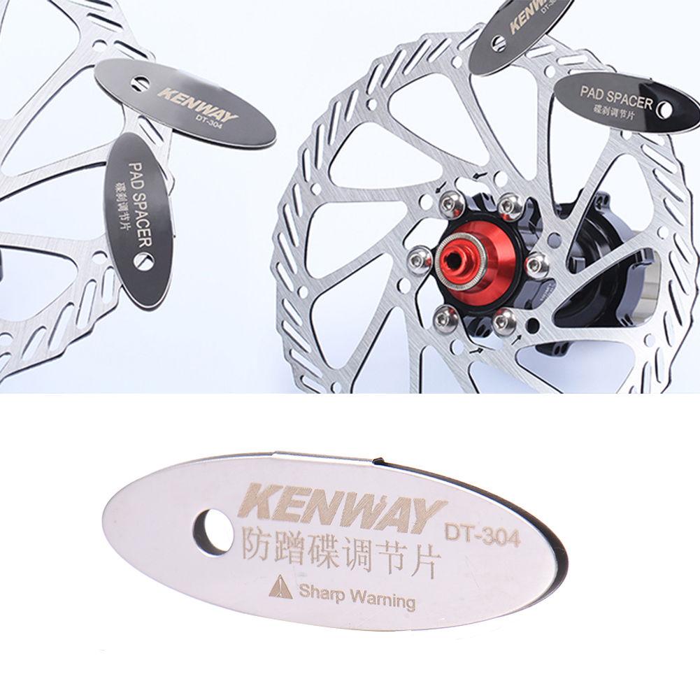 Adjusting Bike Bicycle Disc Brake Pads Spacer Tool Mounting Assistant Rotor