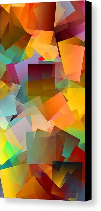 Simple Cubism 35 Canvas Print by Chris Butler.  #art #cubism #deco #design #interior #home #wall #modern #contemporary