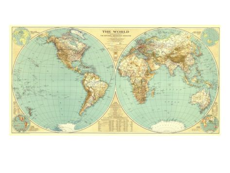 1935 world map small spaces kids rooms and wall decor 1935 world map gumiabroncs Choice Image