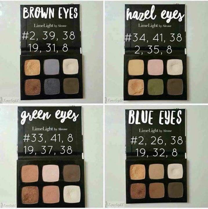 how to choose eyeshadow color combinations