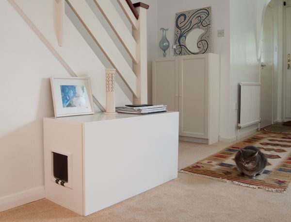 5 DIY Ways To Hide That Litter Box In Style   Porch Advice