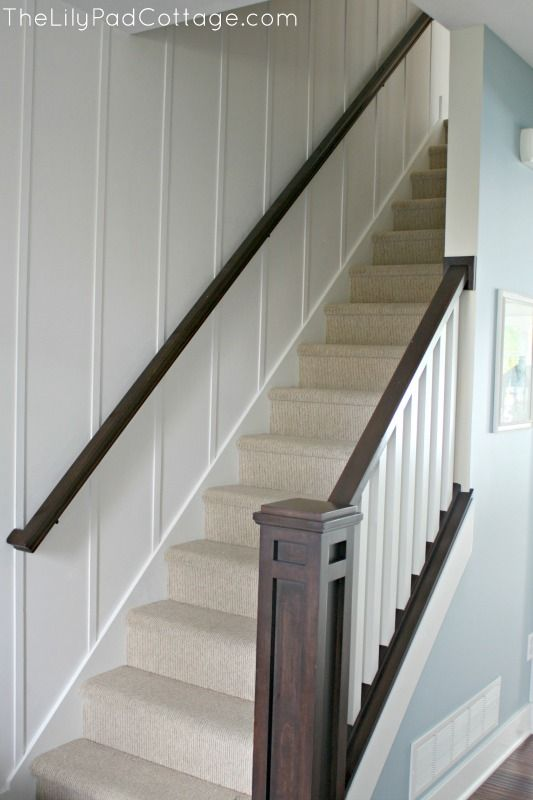 Best New Entry Decor And Planked Wall Basement Stairway 400 x 300