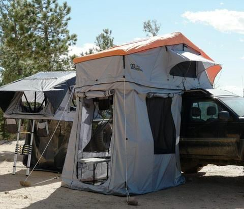 Type E 3 Person Roof Top Tent - Polyester/Nylon Material - by Odin Designs & Type E 3 Person Roof Top Tent - Polyester/Nylon Material - by Odin ...