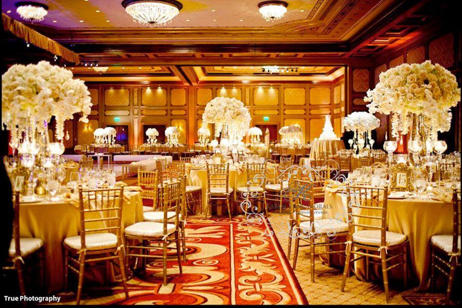 A Grandeur Wedding At The Grand Del Mar Table Centerpiece Settings Decor