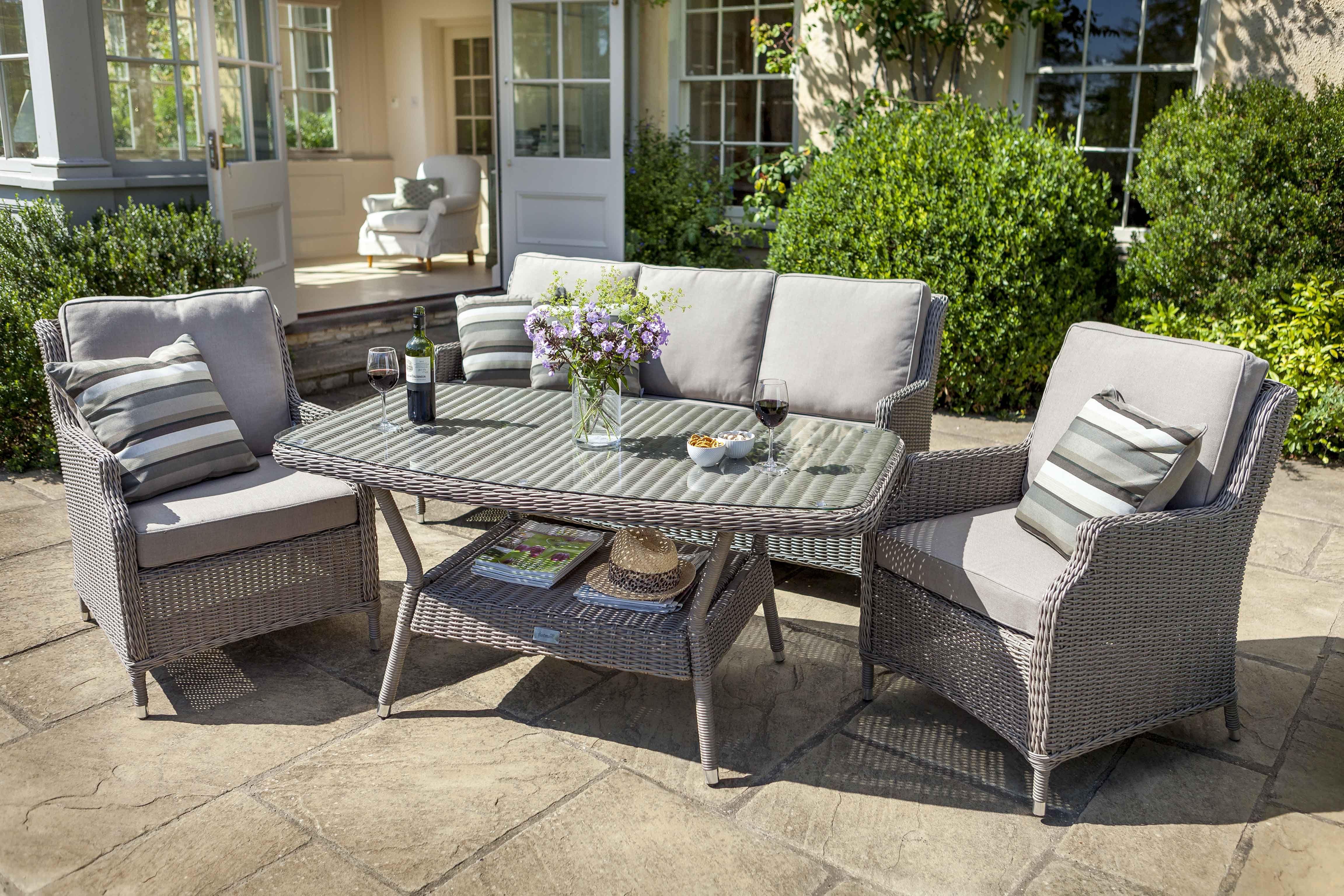 Hartford Casual Lounge Set | Hartman Resin Weave Garden Furniture ...