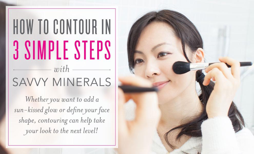 How to contour A basic makeup tutorial Basic makeup